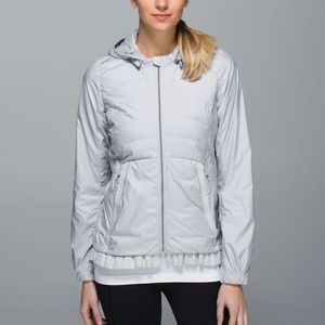 Lululemon Spring Fling Jacket Gray
